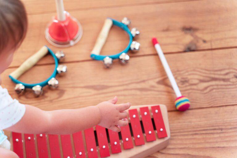 Clases y talleres de música para bebés